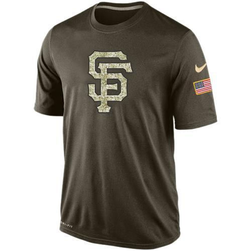 2016 Mens San Francisco Giants Salute To Service Nike Dri-FIT T-Shirt