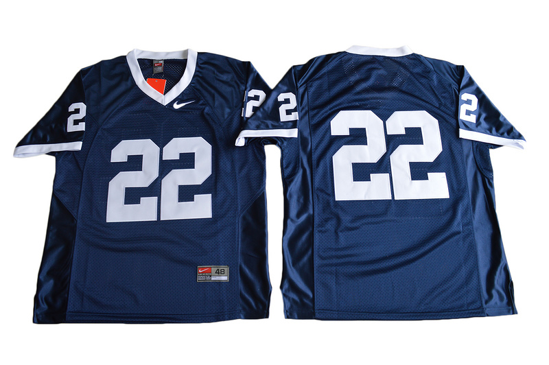 2017 Penn State Nittany Lions 22 College Football Jersey Navy Blue