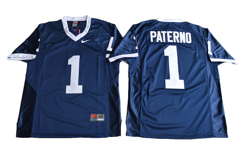 2017 Penn State Nittany Lions Joe Paterno 1 College Football Jersey Navy Blue