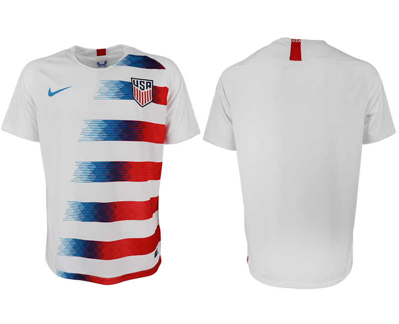 2018-2019 Men national America home aaa version soccer jersey