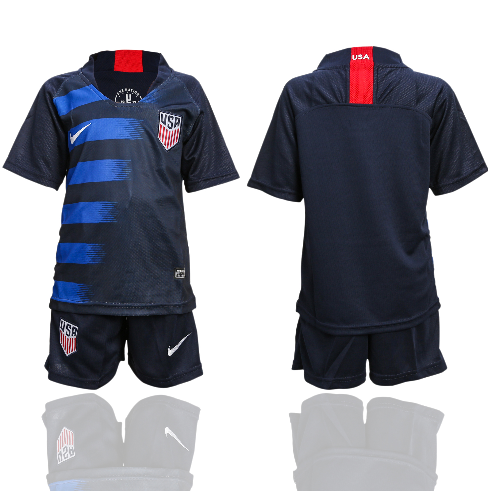2018-2019 national America away youth soccer jersey