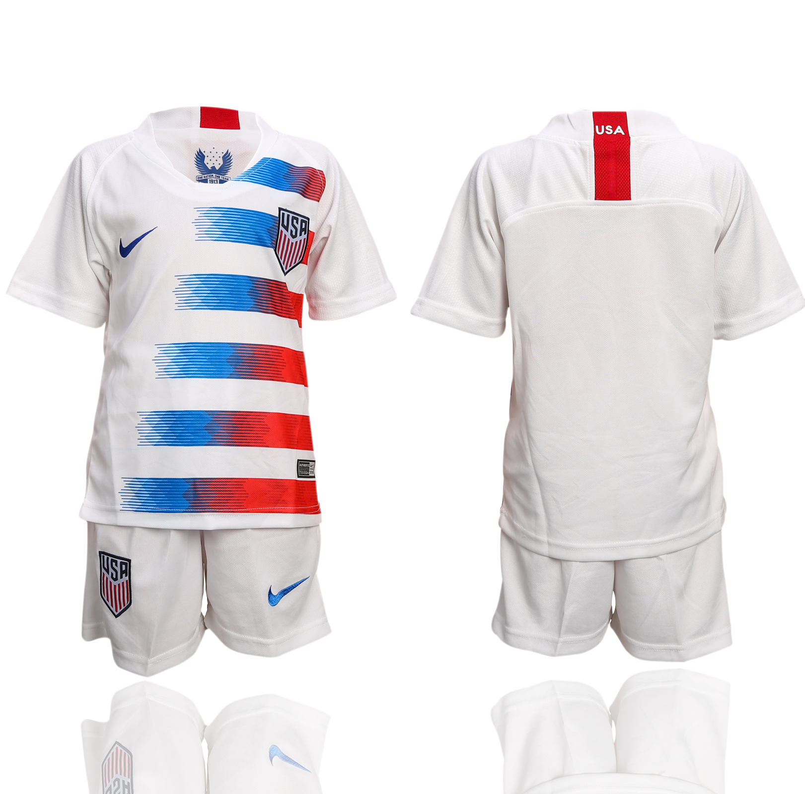 2018-2019 national America home youth soccer jersey
