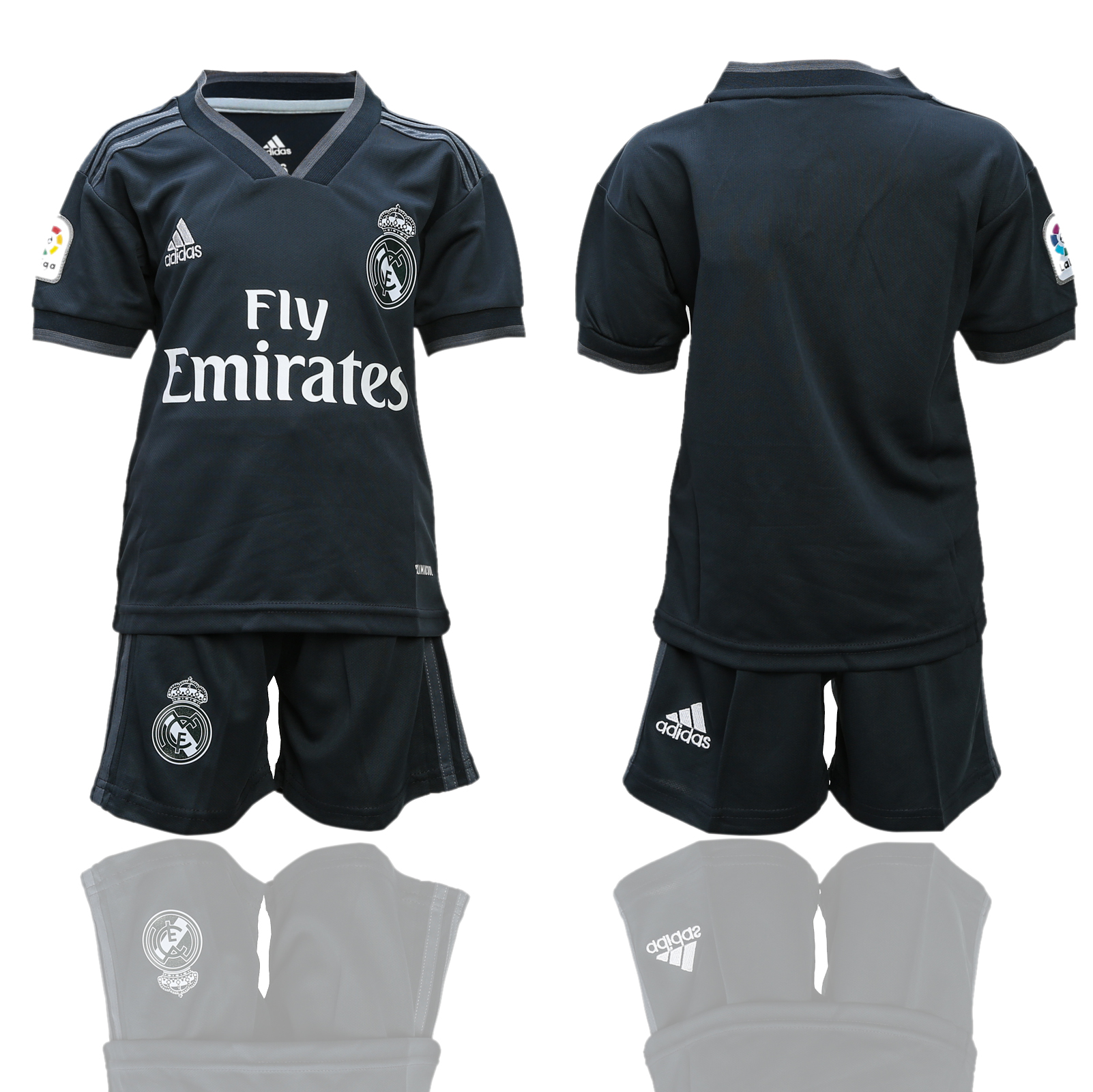 2018-2019 youth club Real Madrid away  soccer jersey