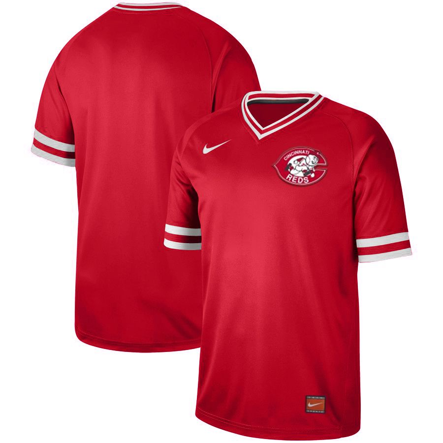 2019 Men MLB Cincinnati Reds blank red Nike Cooperstown Collection jersey