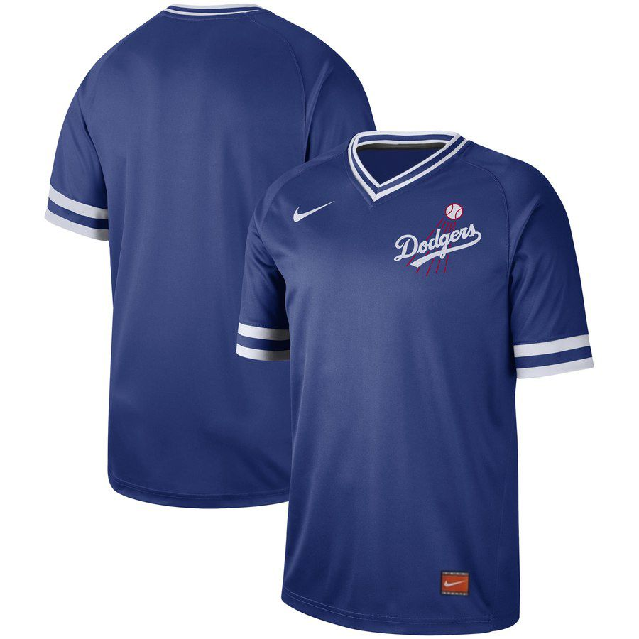 2019 Men MLB Los Angeles Dodgers blank blue Nike Cooperstown Collection jersey