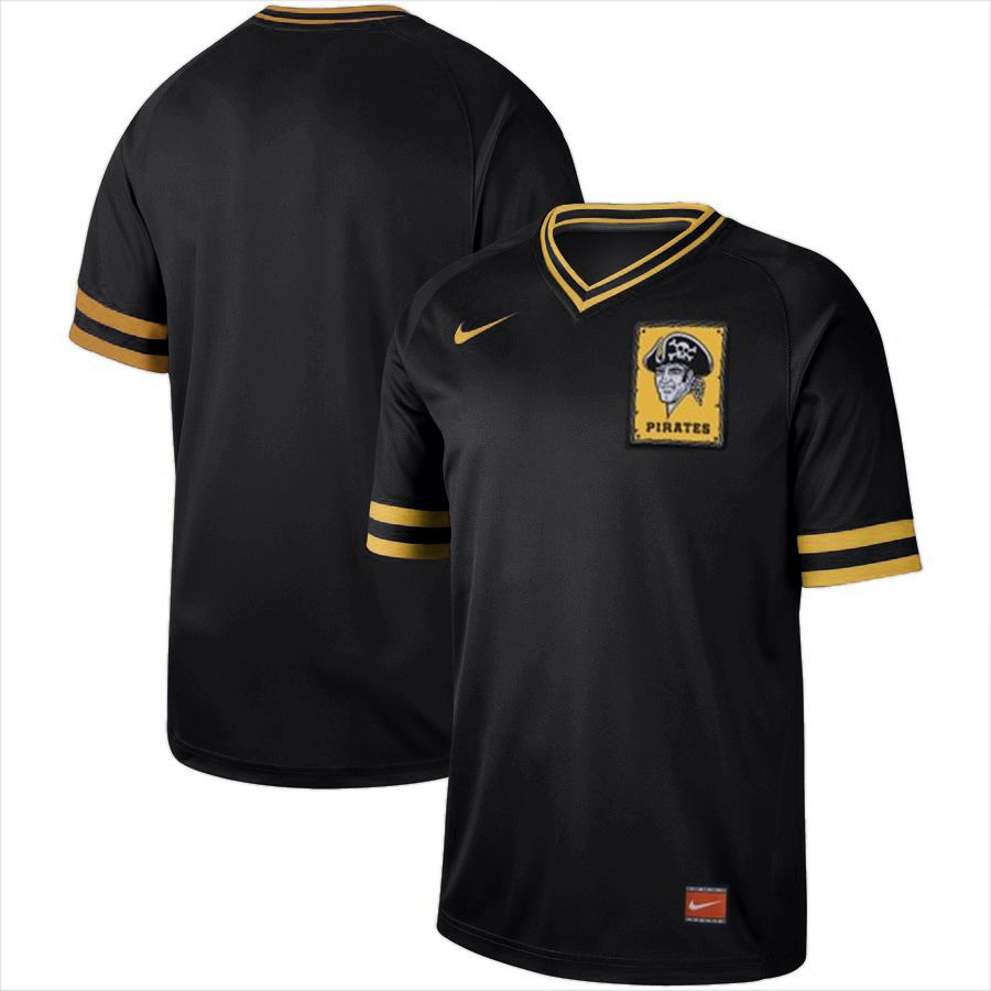 2019 Men MLB Pittsburgh Pirates blank black Nike Cooperstown Collection jersey