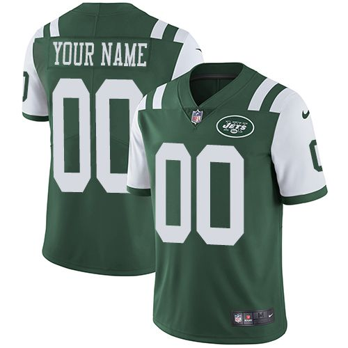 2019 NFL Youth Nike New York Jets Home Green Customized Vapor Untouchable Limited jersey