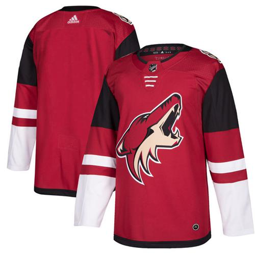 Adidas Men Arizona Coyotes Blank Maroon Home Authentic Stitched NHL Jersey
