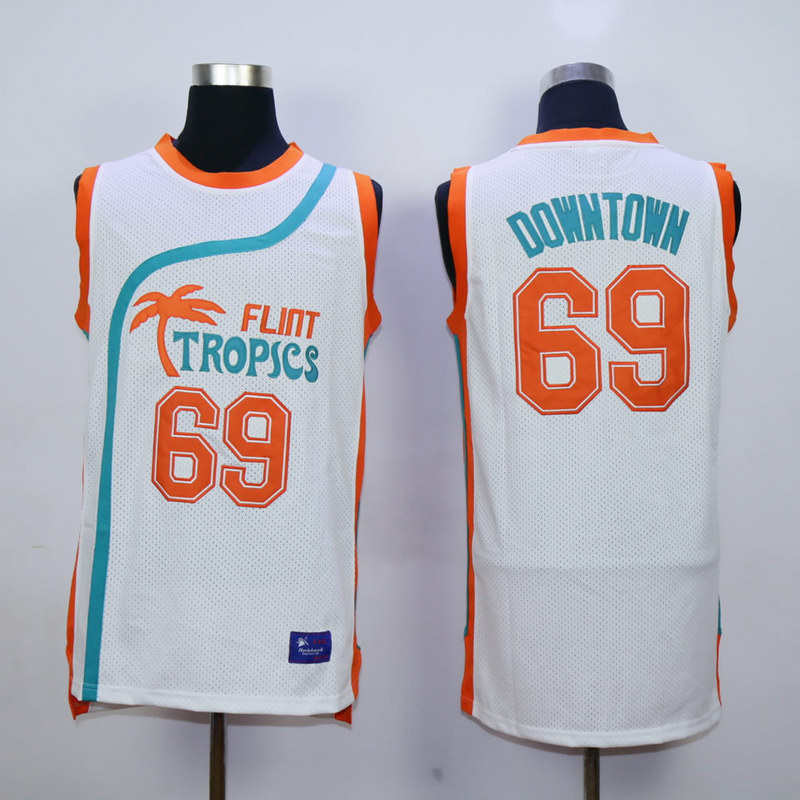 Flint Tropics Semi Pro Movie 69 Downtown White