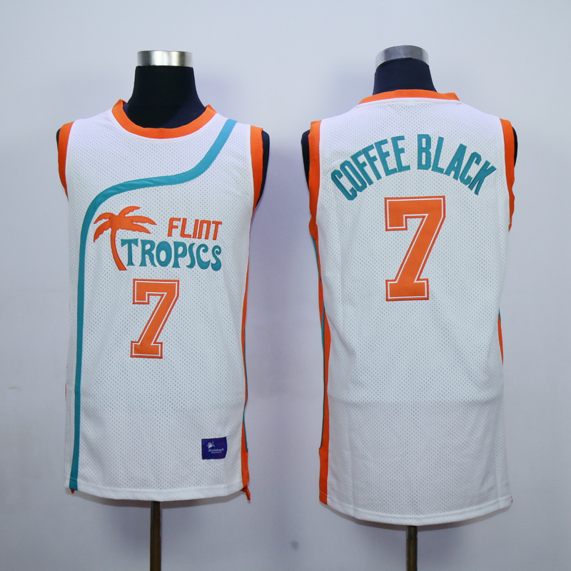 Flint Tropics Semi Pro Movie 7 Coffee Black White