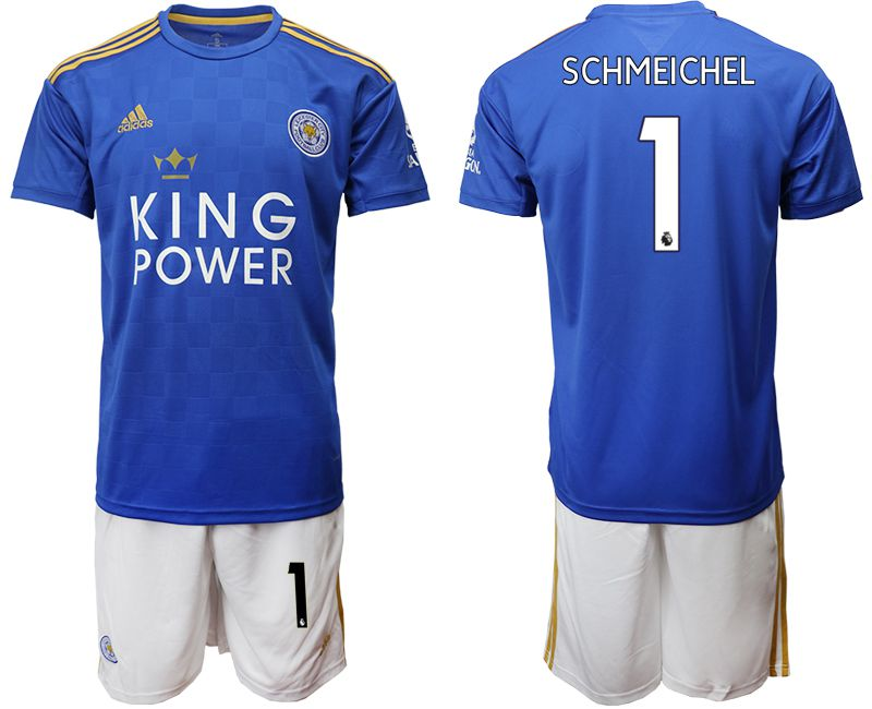 Men 2019-2020 club Leicester City home 1 blue Soccer jersey