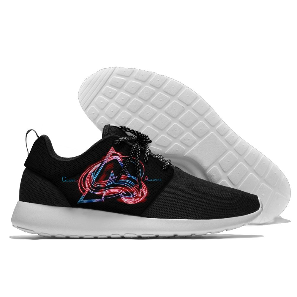 Men  NHL Colorado Avalanche Roshe style Lightweight Running shoes 3
