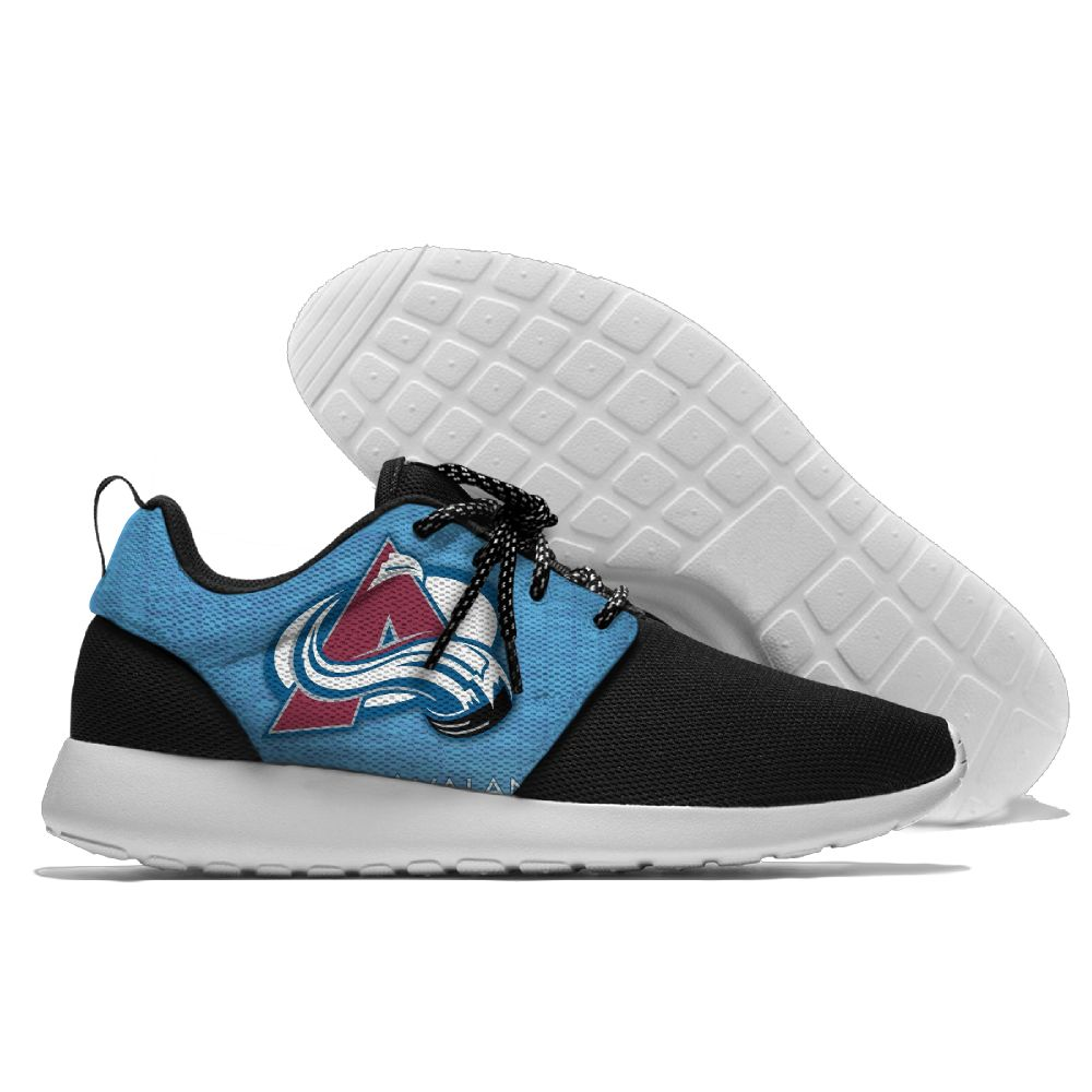 Men  NHL Colorado Avalanche Roshe style Lightweight Running shoes 5