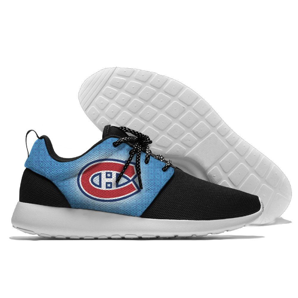 Men  NHL Montreal Canadiens Roshe style Lightweight Running shoes12