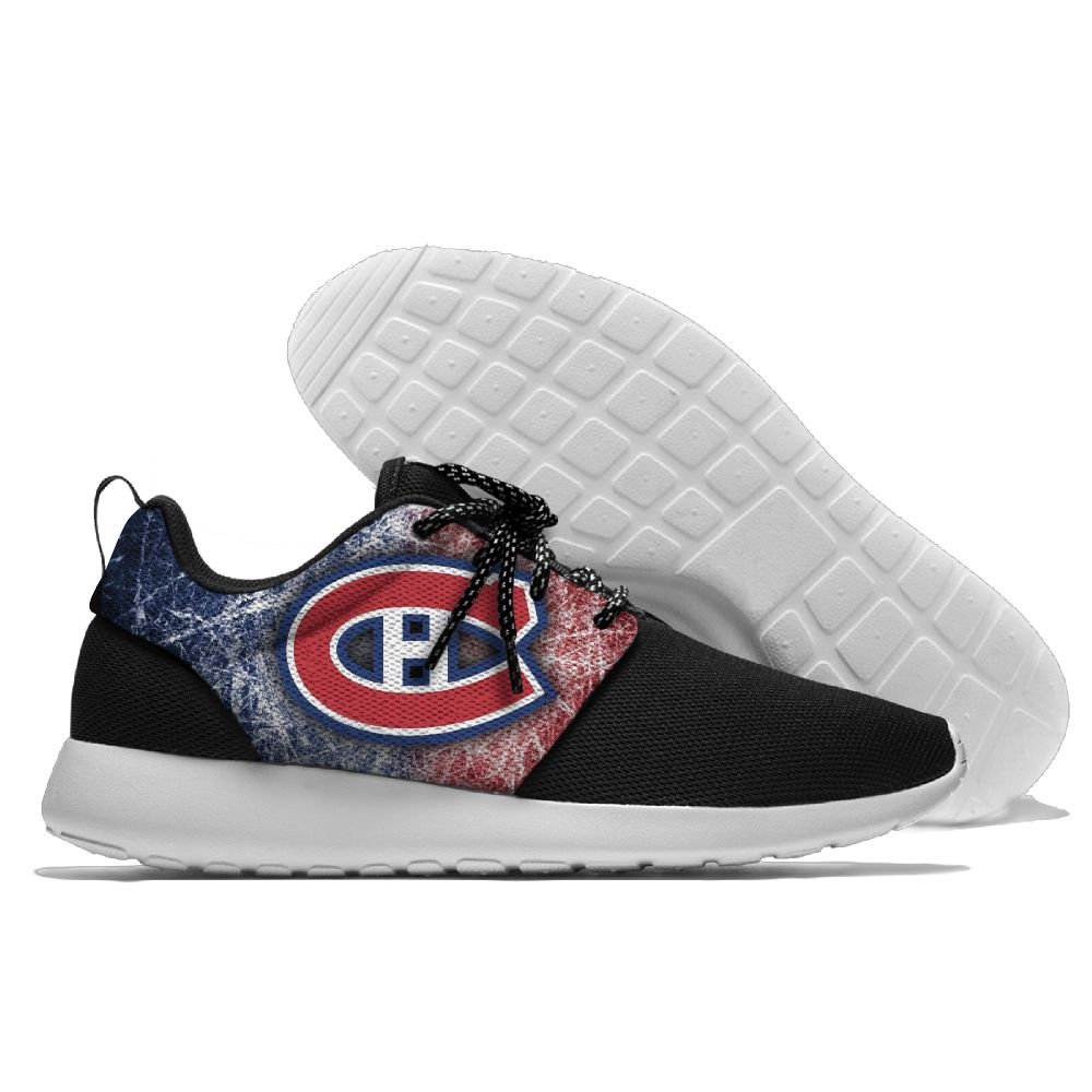 Men  NHL Montreal Canadiens Roshe style Lightweight Running shoes 4