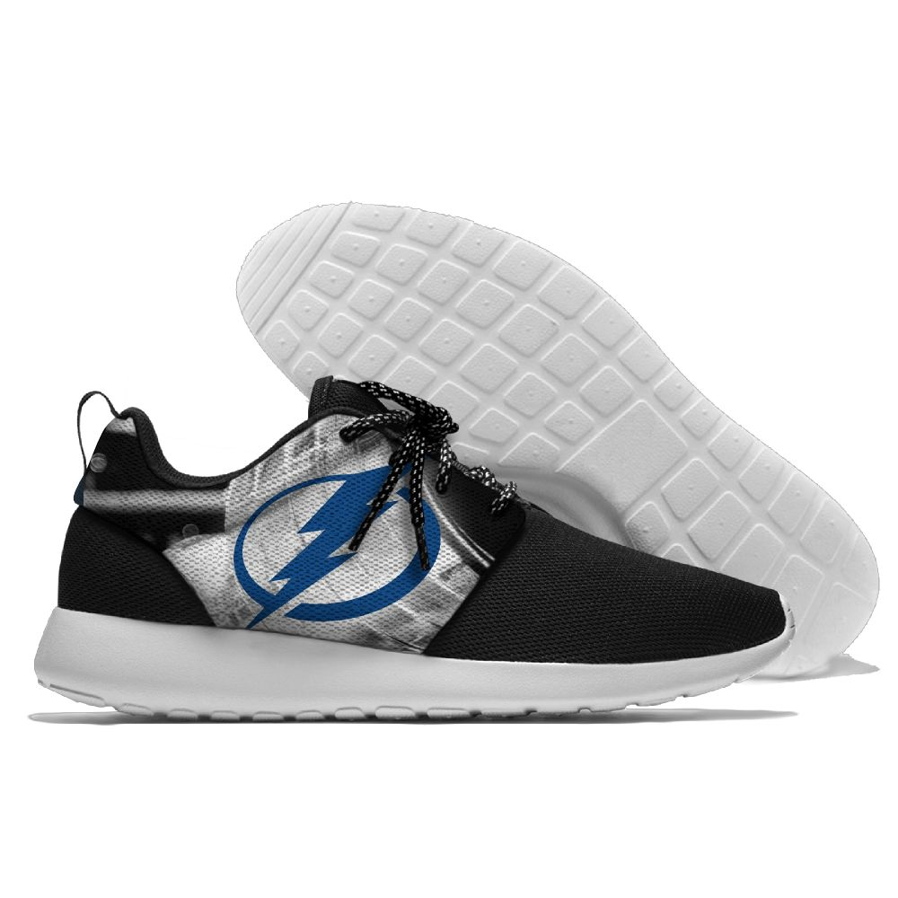Men  NHL Tampa Bay Lightning Roshe style Lightweight Running shoes 7